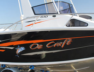 Marine Craft Signs Gallery Jp Signs Brisbane